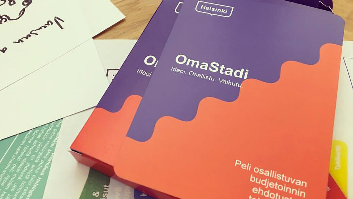 Case OmaStadi - The OmaStadi Game